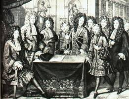 Louis XIV makes duke of Anjou a Spanish King