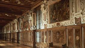 Gallery in Fontainebleau